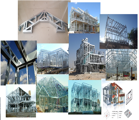 What Is Light Gauge Steel Framing Framebuilder Mrd Steel Building Designer